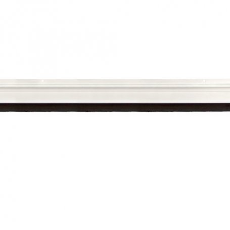 Burlete alumino con tornillos 87cm acabado blanco Cesckim