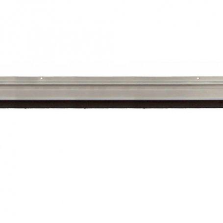 Burlete alumino con tornillos 102cm acabado plata Cesckim