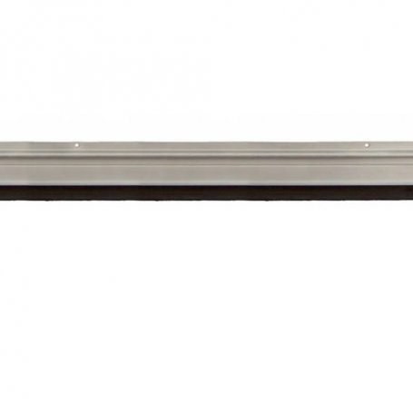 Burlete alumino con tornillos 87cm acabado plata Cesckim