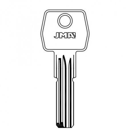 Llave laton seguridad mod agb5 nik agb8 nik (bolsa 10 unidades) JMA