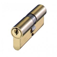 Cilindro de perfil europeo 60mm 30x30mm latón leva 15mm llaves iguales FAC