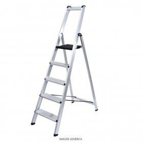 Escalera Profesional Aluminio Ferral 5 peldaños