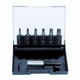 Juego de 6 puntas torx + portapuntas magnético Leman