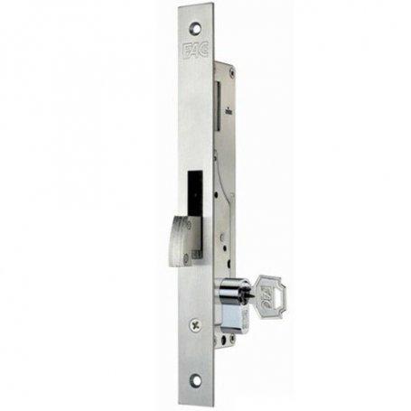 Cerradura de embutir perfil metalico Fac 7006/20-05 gancho basculante