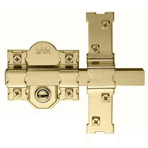 Cerrojo 301 lp 80 dorado 50mm fac comprar al mejor precio - Precio cerrojo fac ...