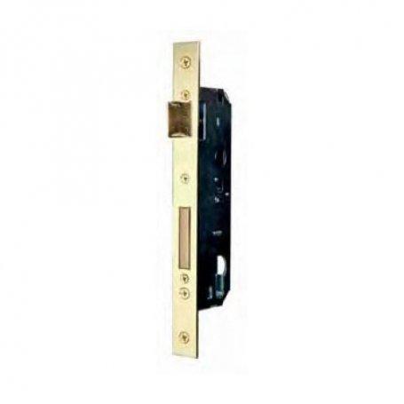 Cerradura embutir madera Fac 801/50 picaporte reversible latón