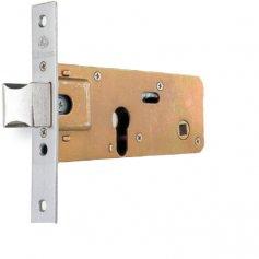Cerradura de embutir Lince puerta metálica 5557 60mm