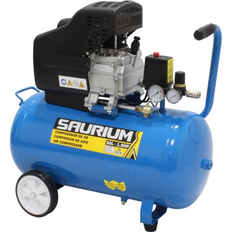 Compresor de aire 50 litros saurium comprar al mejor precio - Compresor de aire precio ...