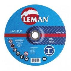 Disco corte metal Leman 115 Gama Azul