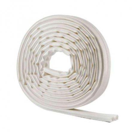 Burlete adhesivo termoplástico blanco 6 metros puertas y ventanas Geko