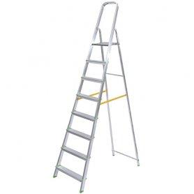 Escaleras de aluminio plegables bricolemar for Escaleras domesticas plegables