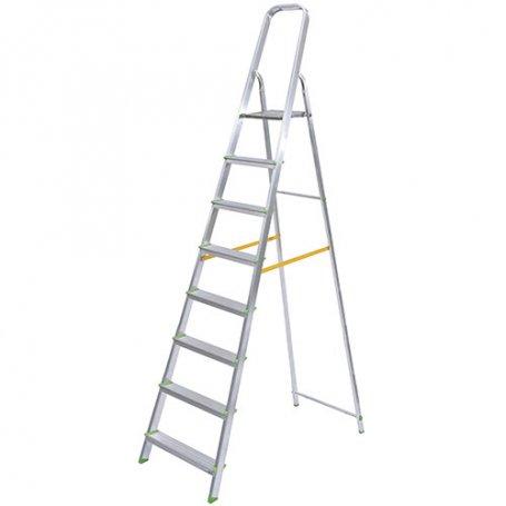 Escalera de aluminio ferral classik 8 pelda os domestica for Escaleras 8 peldanos
