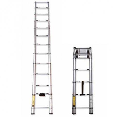 Escalera tubular extensible 3 55m ferral comprar al mejor for Escaleras ferral