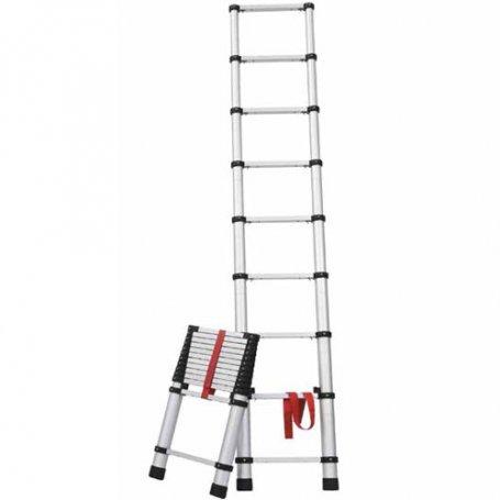 Escalera tubular extensible 2 46m ferral comprar al mejor for Escaleras ferral