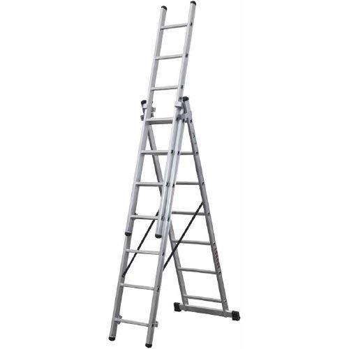 Escalera industrial aluminio triple classik 58 3x7 for Escaleras ferral
