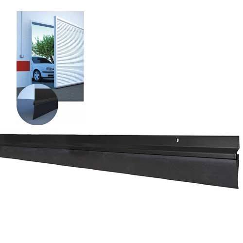 Burlete garaje negro 3m 2x1 5 miarco comprar al - Burletes para puertas de garaje ...