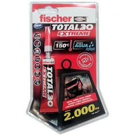 Adhesivo total extreme 30 seg blister 5grs fischer