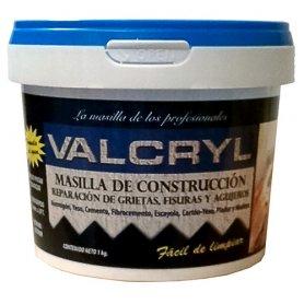 Masilla de construccion valcryl 1 kg promasal