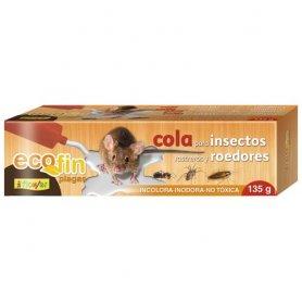Cola para insectos rastreros y roedores 135gr okfuego