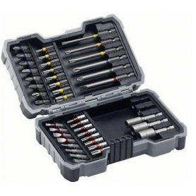 Set de 43 puntas de atornillar Bosch