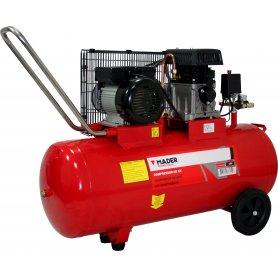 Compresor De Aire Con Correa 100Lt 2,75Hp C/C Mono Mader