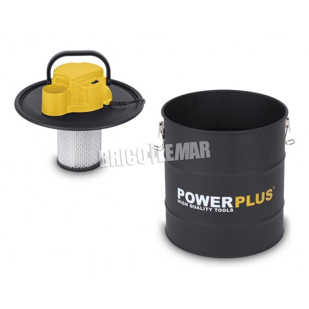 Aspirador de cenizas powerplus 1200w 20l comprar al mejor - Aspiradoras de cenizas ...