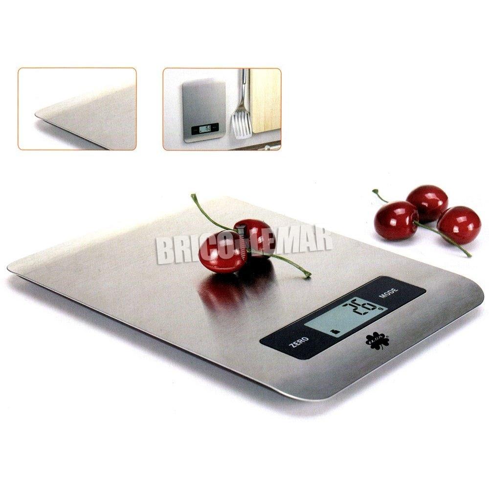 Balanza de cocina digital inox hasta 5kg Ilsa comprar al mejor precio.