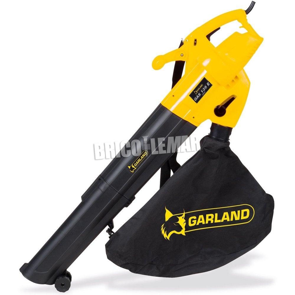 Soplador de hojas el ctrico garland gas 139 e v16 comprar - Soplador de hojas electrico ...