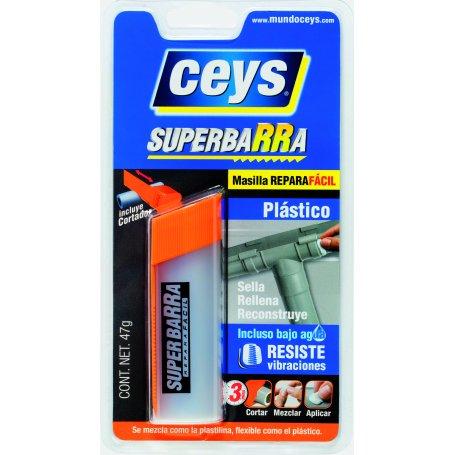 Superbarra reparadora plástico 47gr Ceys
