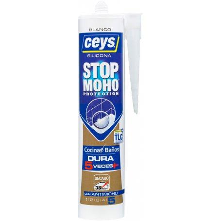 Silicona Stop Moho Secado Express blanco Ceys