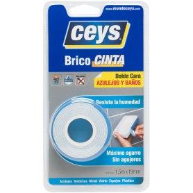 Bricocinta azulejos y baños rollo 1,5m Ceys