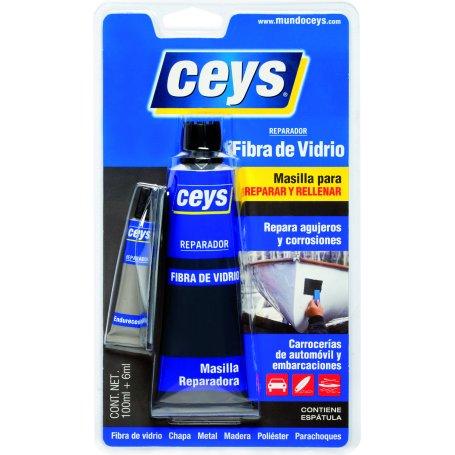 Reparador fibra de vidrio 100+6ml. Ceys