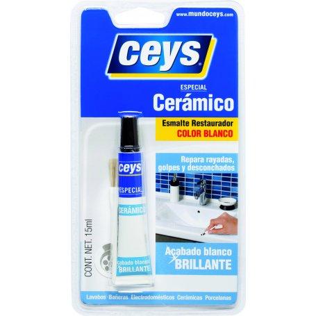 Reparador cerámico blanco 15ml Ceys