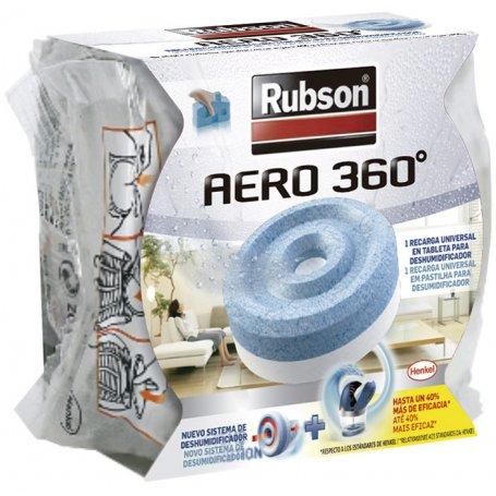 Recarga deshumidificador Rubson Aero 360º 450g Henkel