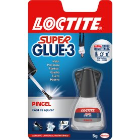 Super Glue-3 5gr con pincel Henkel