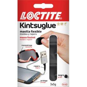 Loctite kintsuglue masilla flexible negro 3x5gr henkel