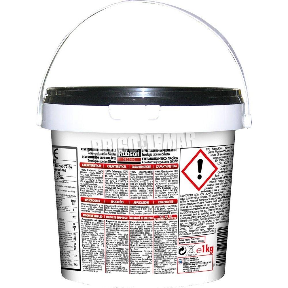 Silicona rubson sl3000 liquida negra henkel comprar al - Silicona liquida precio ...