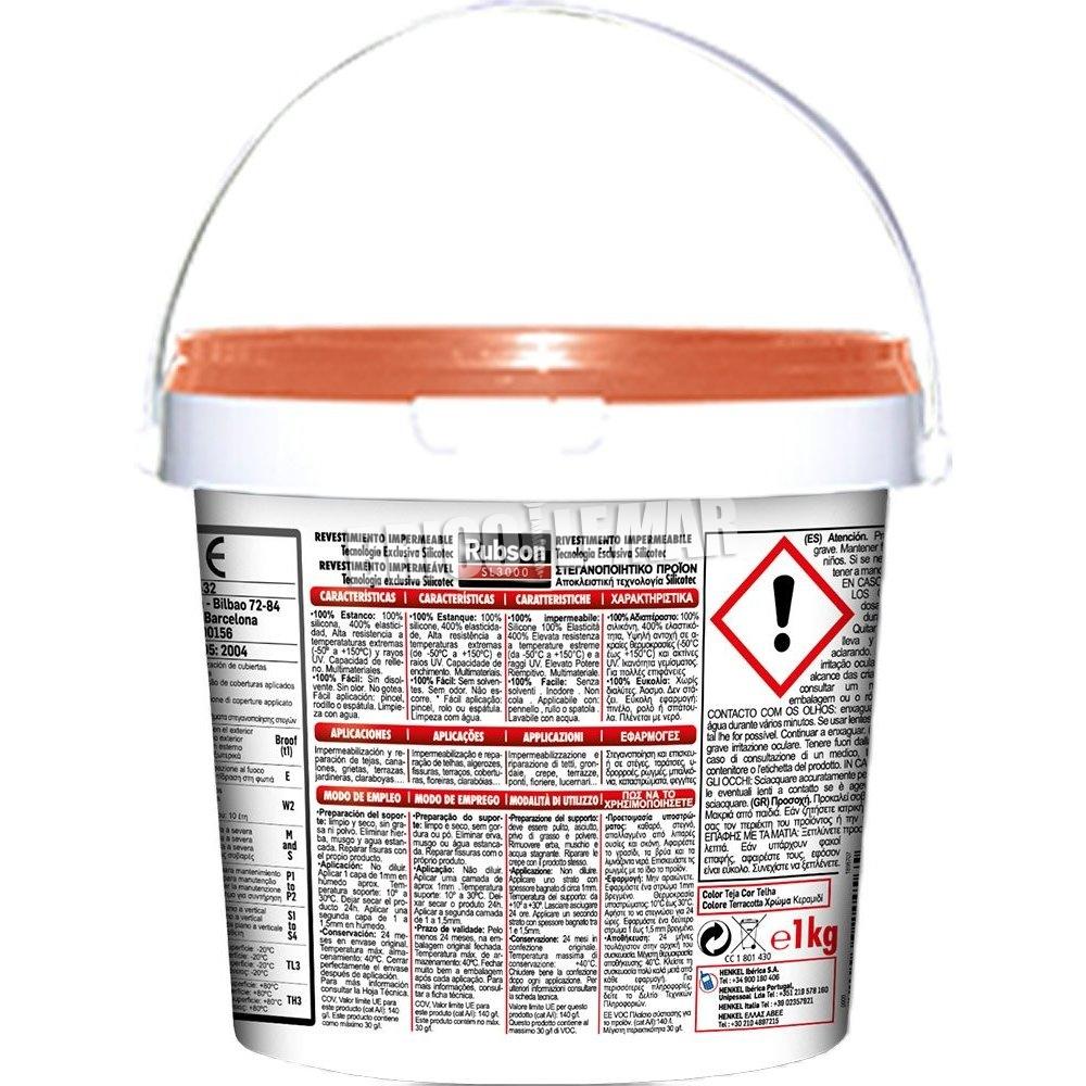Silicona rubson sl3000 liquida teja henkel comprar al - Silicona liquida precio ...