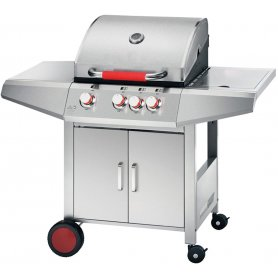 Barbacoa de gas Ghisa New Top Inox Ferraboli
