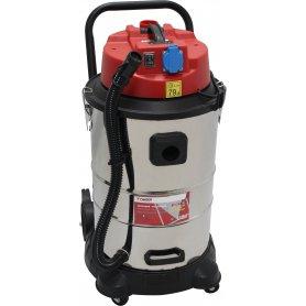 Aspirador para polvo y líquidos INOX 1400W 50L Mader