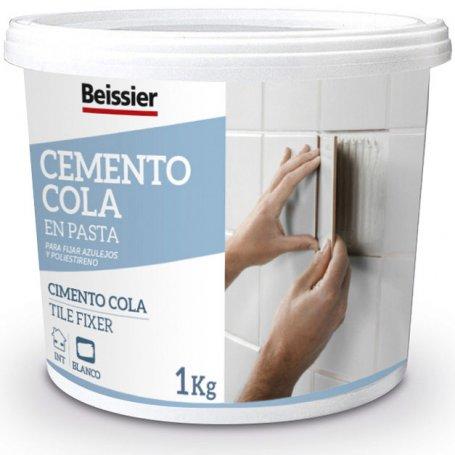 Cemento cola en pasta 1kg Beissier
