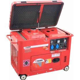 Generador 5Kw monofásico portátil Mader