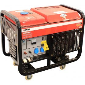 Generador 10Kkva monofásico portátil Mader