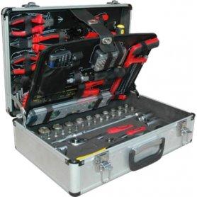 Maletín de herramientas profesional 122 piezas Mader