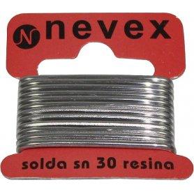 Hilo estaño p/soldar resina 70/30 2mm 20grs mader