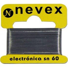 Hilo estaño p/soldar electronico 60/40 13grs mader