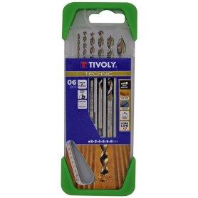Estuche para madera alto rediemiento 5 piezas tivoly