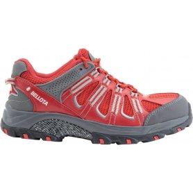 Zapato trail rojo talla 40 bellota