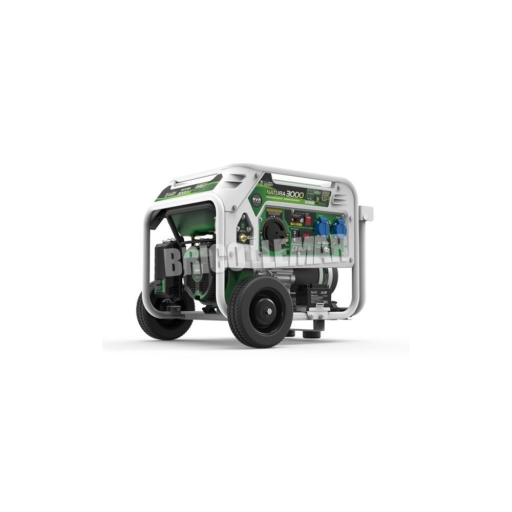 Generador a gas y gasolina natura 3000 3000w 230v e start - Generador a gas ...