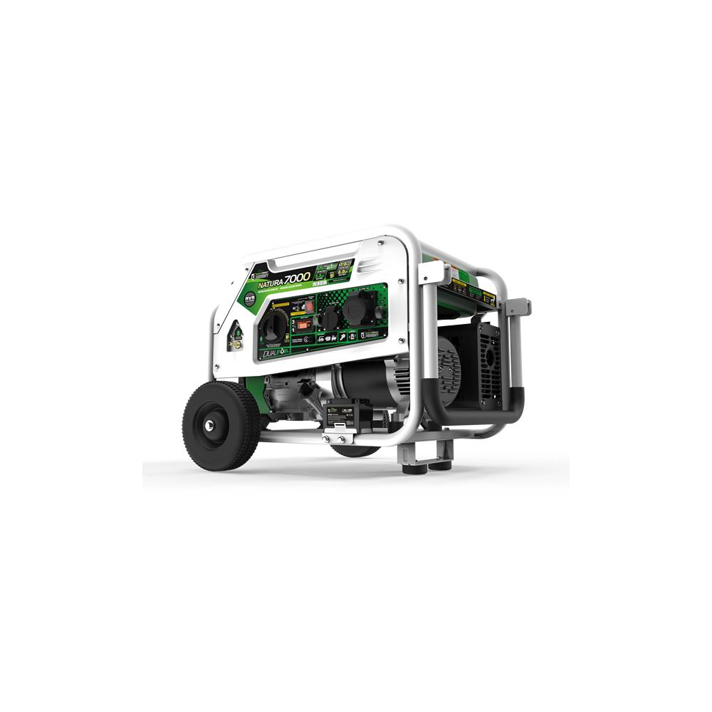Generador a gas y gasolina natura 7000 7000w 230v e start - Generador a gas ...